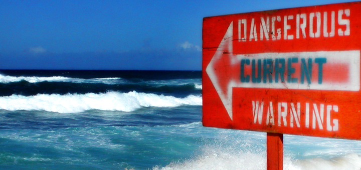 Dangerous Hawaiian Current