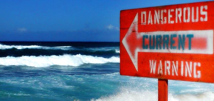 Dangerous Hawaiian Current