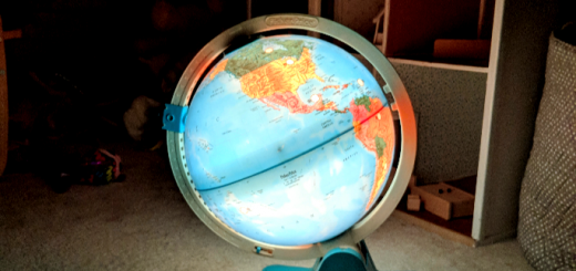 Child's Globe LIght